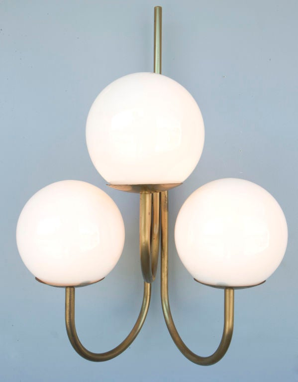 Pair of Sergio Asti Wall Lamps for Candle at 1stdibs