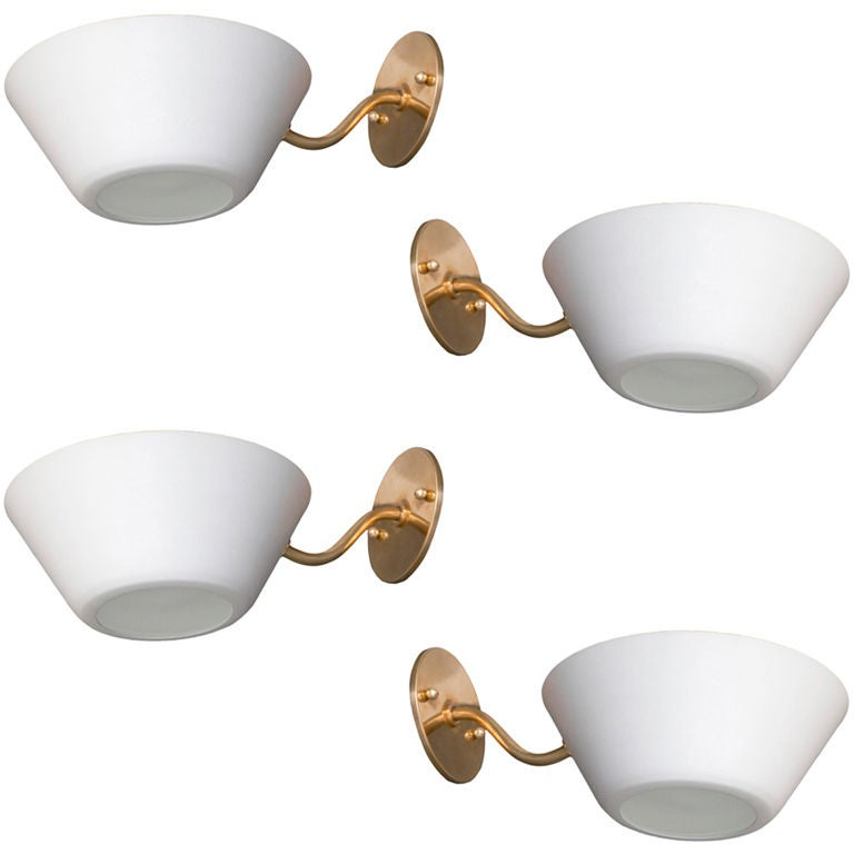 A Pair of Italian Sconces For Sale