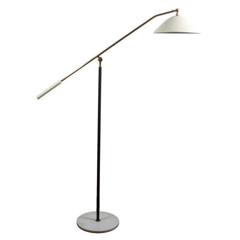 this stilnovo swing arm floor lamp is no longer available. Black Bedroom Furniture Sets. Home Design Ideas