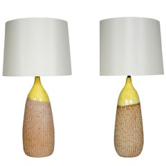 Pair of Ceramic Table Lamps by Raymor