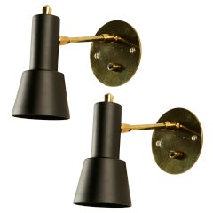 Pair of Petite Italian Sconces