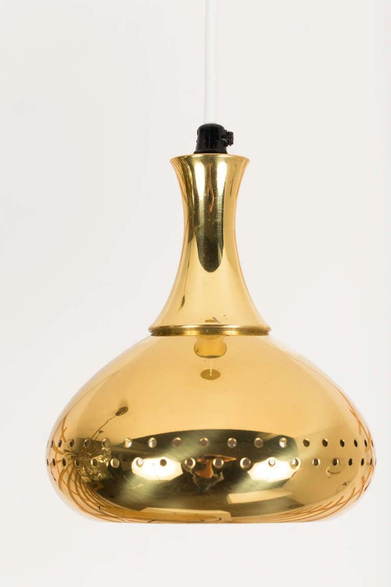 Hans Agne Jakobsson Brass Pendants 4