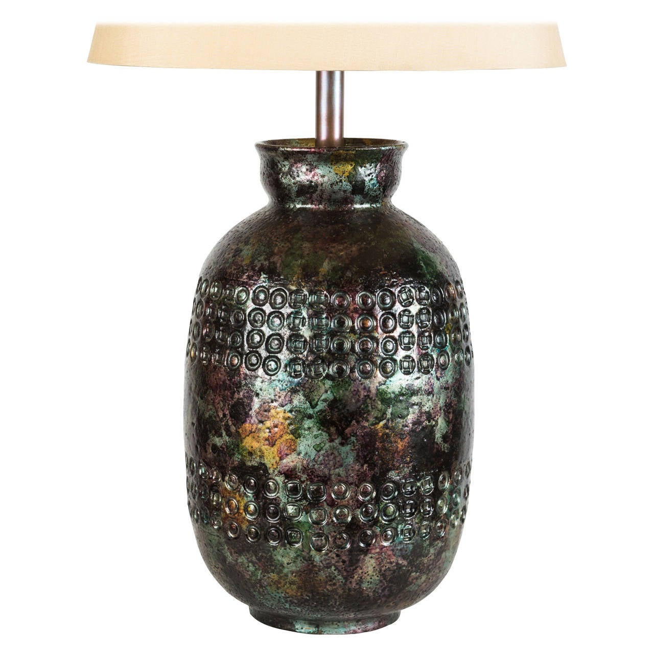 Italian Ceramic Table Lamp For Sale At 1stdibs