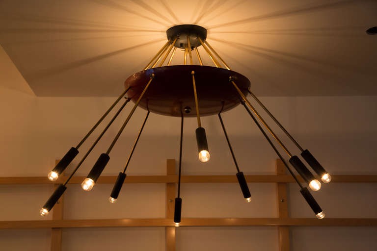 Italian Ten-Arm Chandelier 2