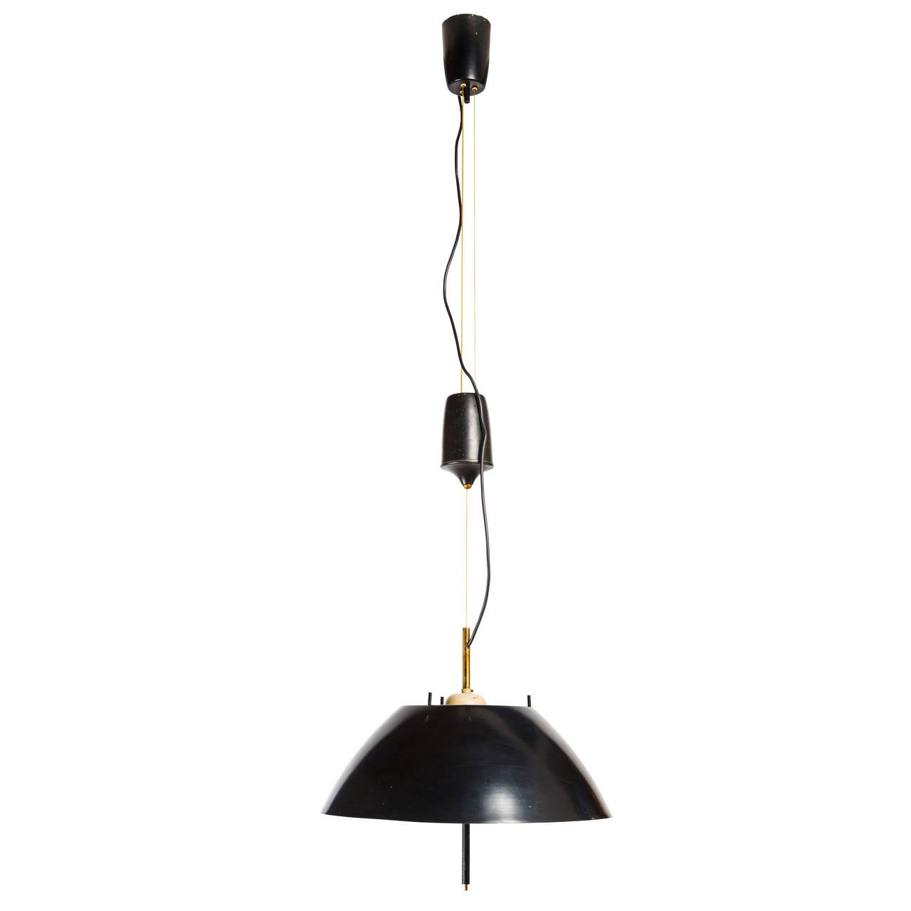 Rare Pendant By Oscar Torlasco For Lumi For Sale At 1stdibs