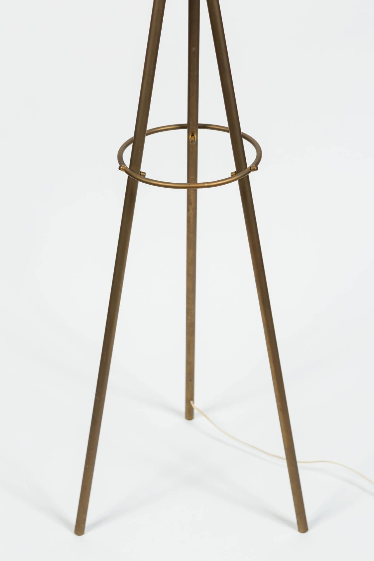 Rare Angelo Lelli Floor Lamp for Arredoluce For Sale 2