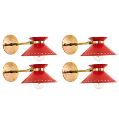 Pair of Arlus Sconces