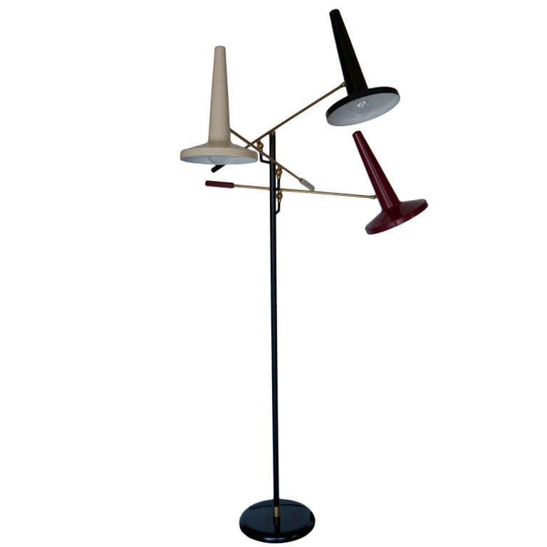 this italian three arm floor lamp is no longer available. Black Bedroom Furniture Sets. Home Design Ideas