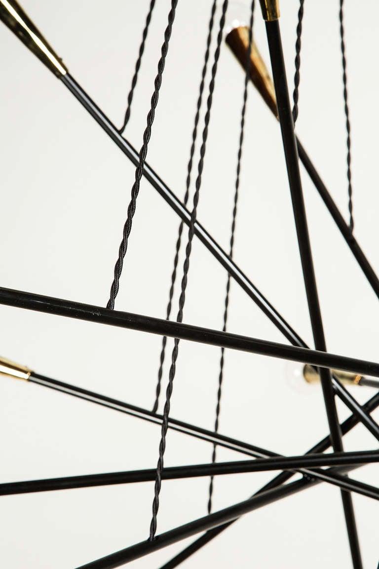 Rewire Custom Multi Arm Chandelier For Sale 2