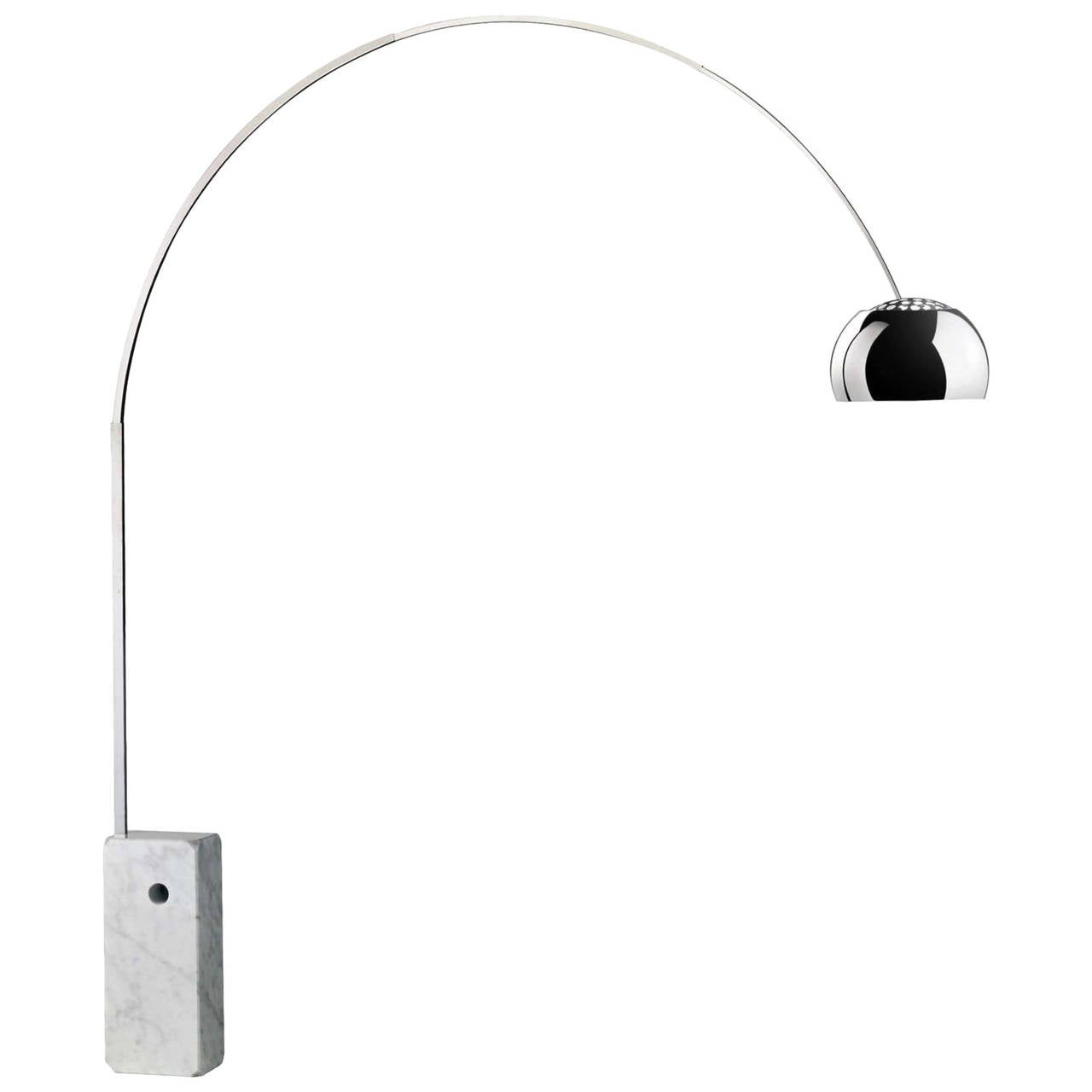 """Arco"" Floor Lamp by Achille and Pier Giacomo Castiglioni For Sale"