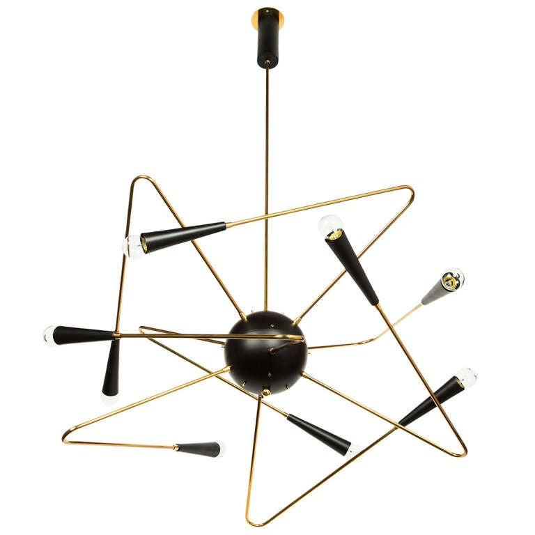 Rewire Custom Orbital Chandelier