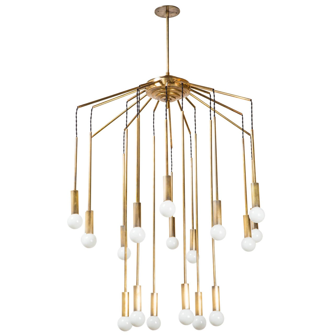 Italian Eighteen Arm Chandelier