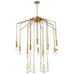Eighteen Arm Chandelier by Interlampadario Milano