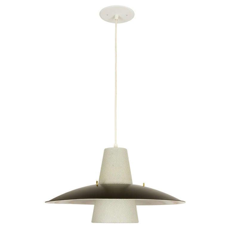 Lightolier Ring Chandelier At 1stdibs: Lightolier Pendant Lamp At 1stdibs