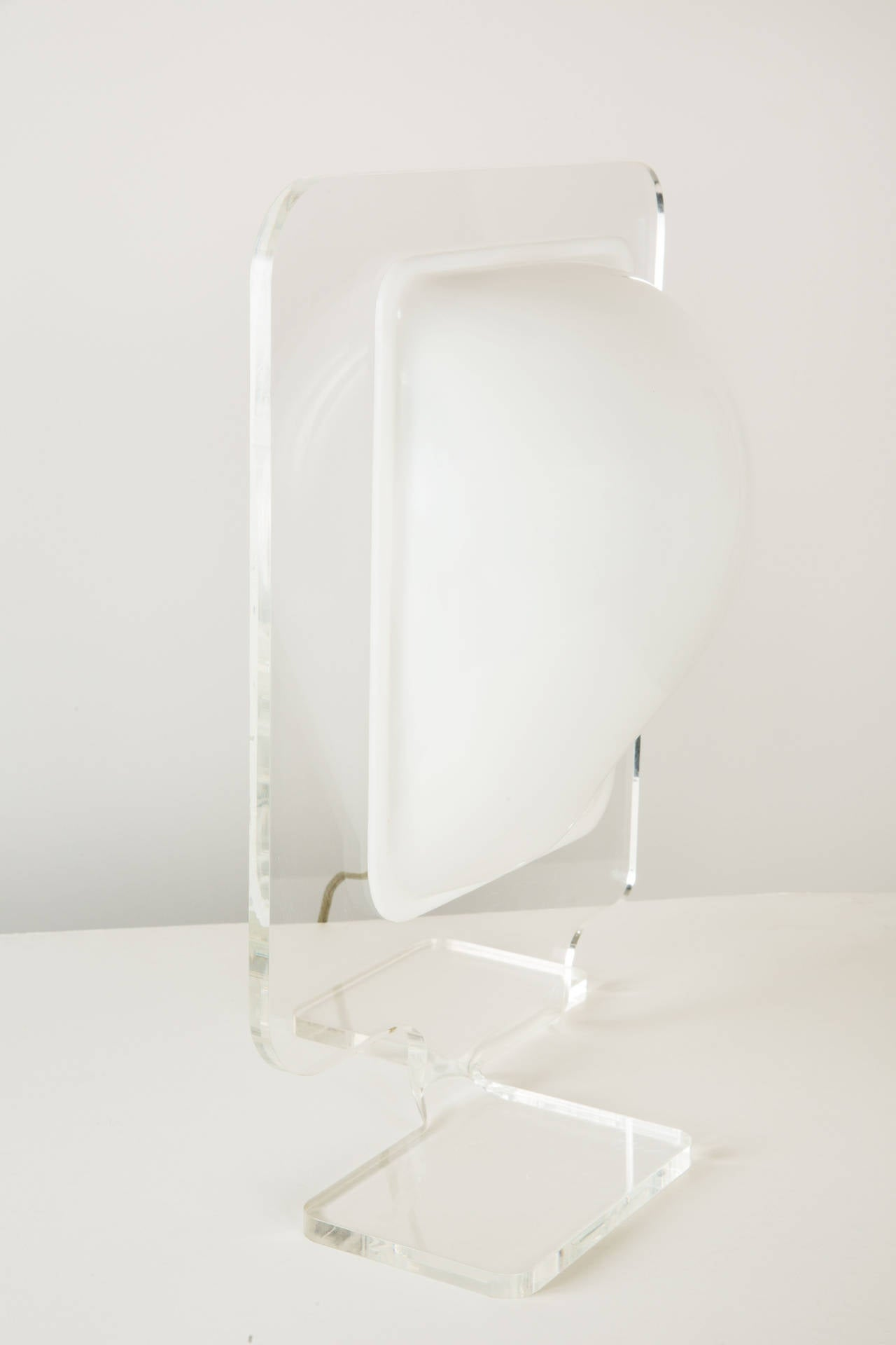 French Pierre Cardin Table Lamp For Sale