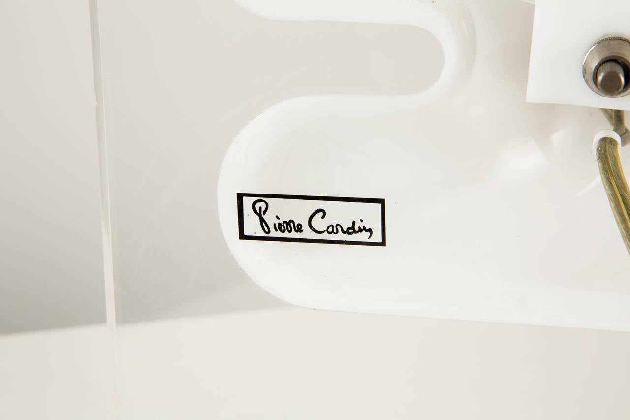 Late 20th Century Pierre Cardin Table Lamp For Sale
