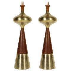 Pair of Laurel Table Lamps