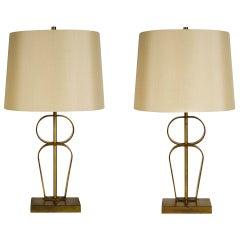 Pair of Robsjohn Gibbings Table Lamps