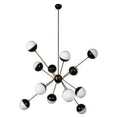 Rewire Custom Orb Chandelier