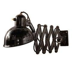 Christian Dell Accordion Lamp