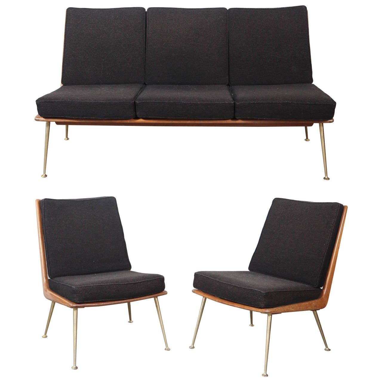 Boomerang Seating Group For Sale at 1stdibs