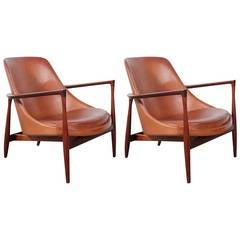 Pair of Ib Kofod-Larsen Elizabeth Chairs