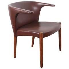 Eskild Pontoppidan Longhorn Leather Armchair