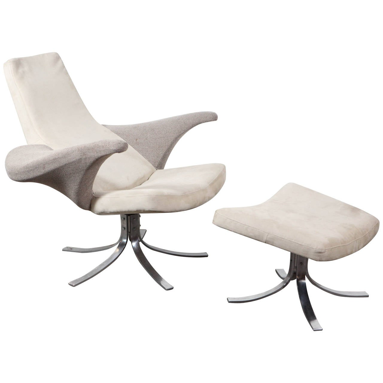 Seagull Chair and Ottoman