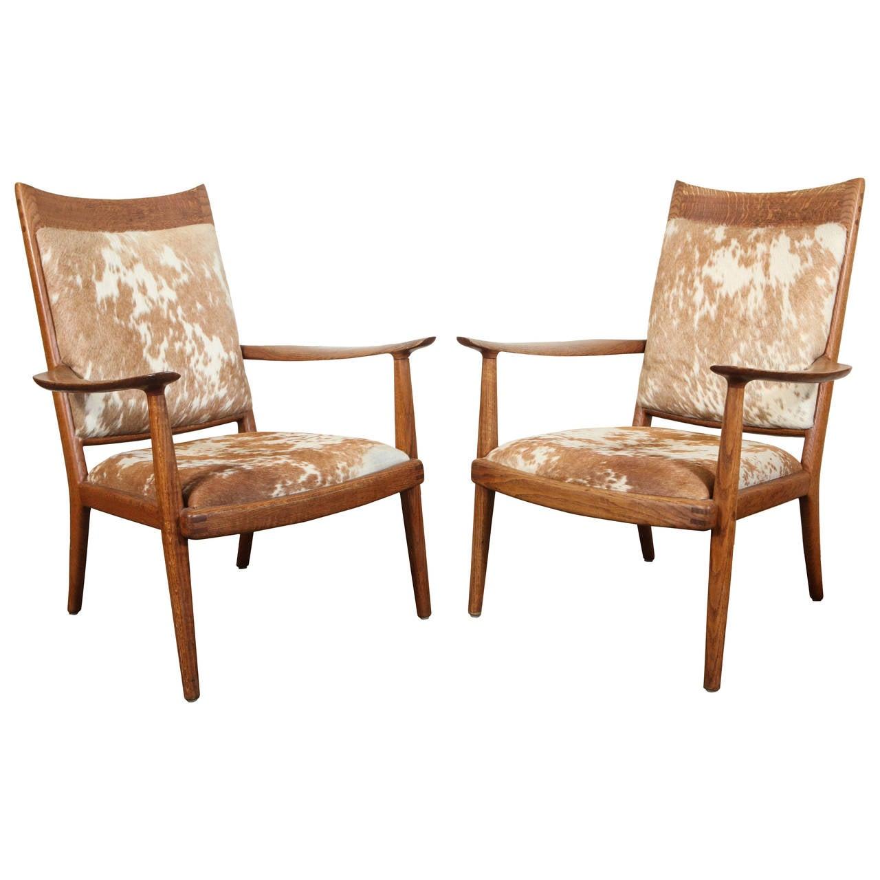 Pair of Sam Maloof Armchairs