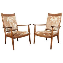 Pair of Sam Maloof Armchairs