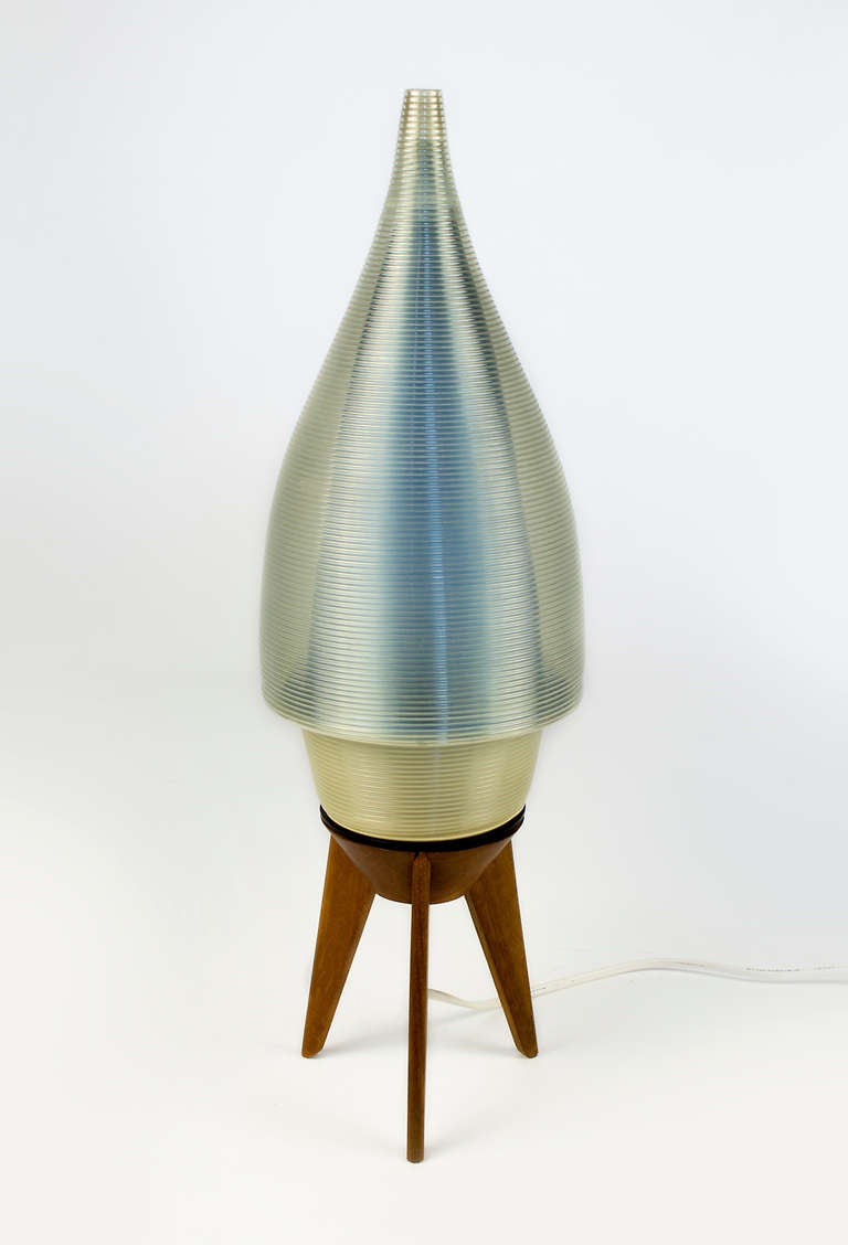 Unique Mid Century French Table Lamp At 1stdibs