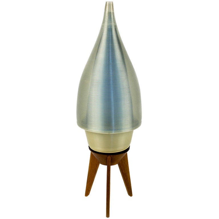 unique mid century french table lamp for sale at 1stdibs. Black Bedroom Furniture Sets. Home Design Ideas