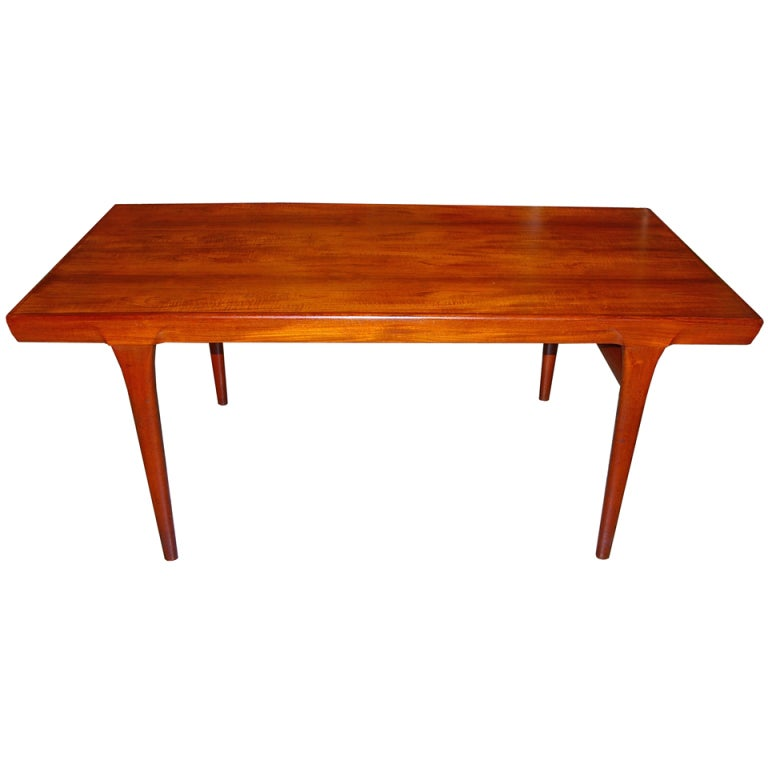 Danish Dining Table By Johannes Andersen at 1stdibs