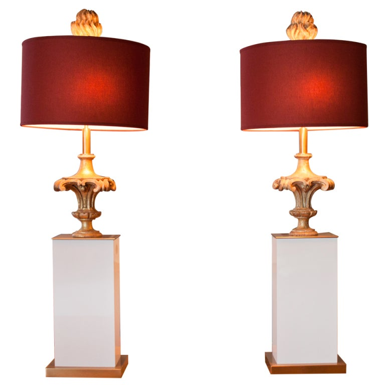 this 19th century carved wooden capitol table lamp is no longer. Black Bedroom Furniture Sets. Home Design Ideas