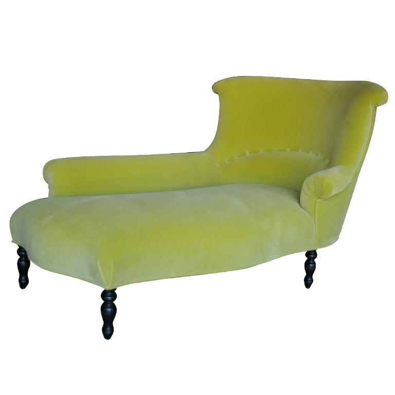 garonne chaise lounge at 1stdibs. Black Bedroom Furniture Sets. Home Design Ideas