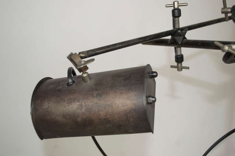 Vintage Clamp Table Lamp at 1stdibs