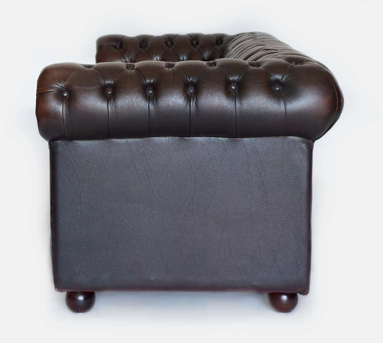 Leather Chesterfield Sofa For Sale