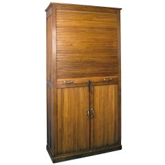 Rare French Filing Cabinet