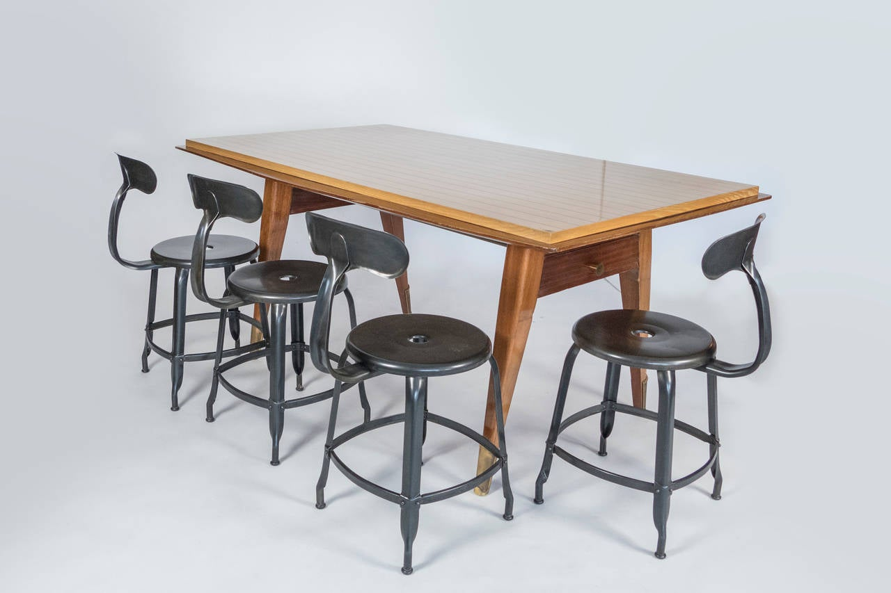 1950 French Dining Table For Sale 2