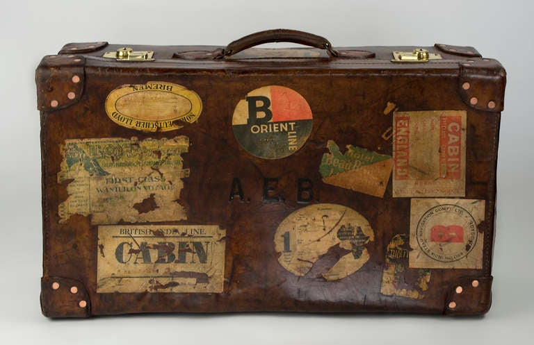 Leather Suitcase 3