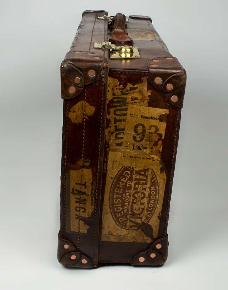 Leather Suitcase 4