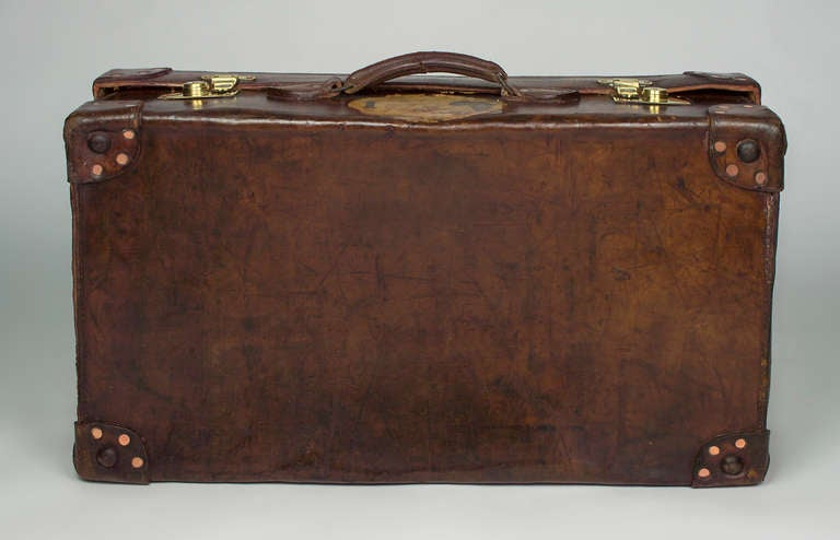 Leather Suitcase 5