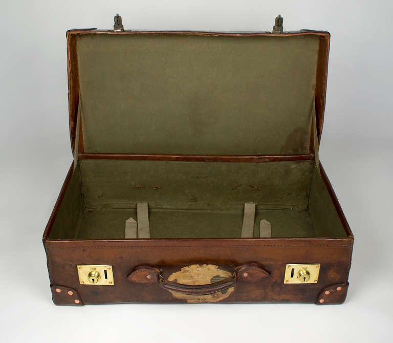 Leather Suitcase 6