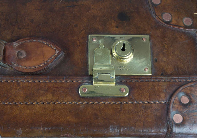 Leather Suitcase 8