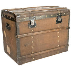 Early 20th Century Travel Chest