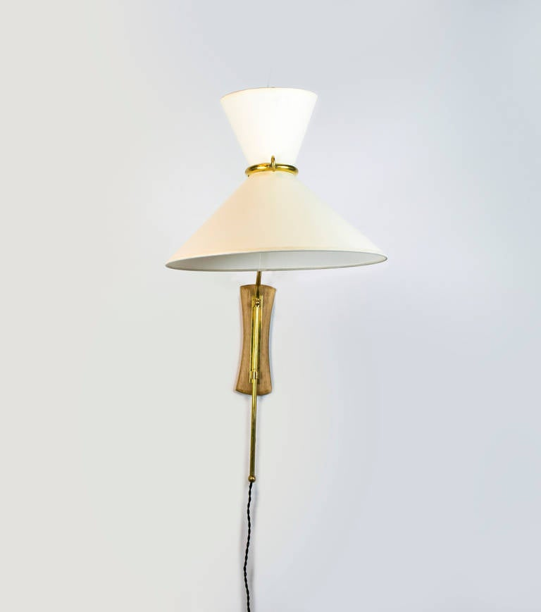 Mid Century Chrome Wall Sconces : Mid-Century French Sconce at 1stdibs