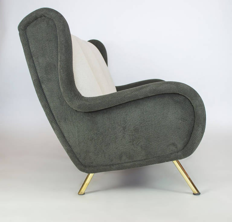 Italian Senior Couch by Marco Zanuso, 1955 For Sale
