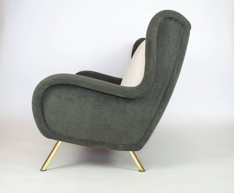 Senior Couch by Marco Zanuso, 1955 In Excellent Condition For Sale In Los Angeles, CA