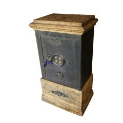 "Exceptional 19th century ""Bauche"" Personal French safe"