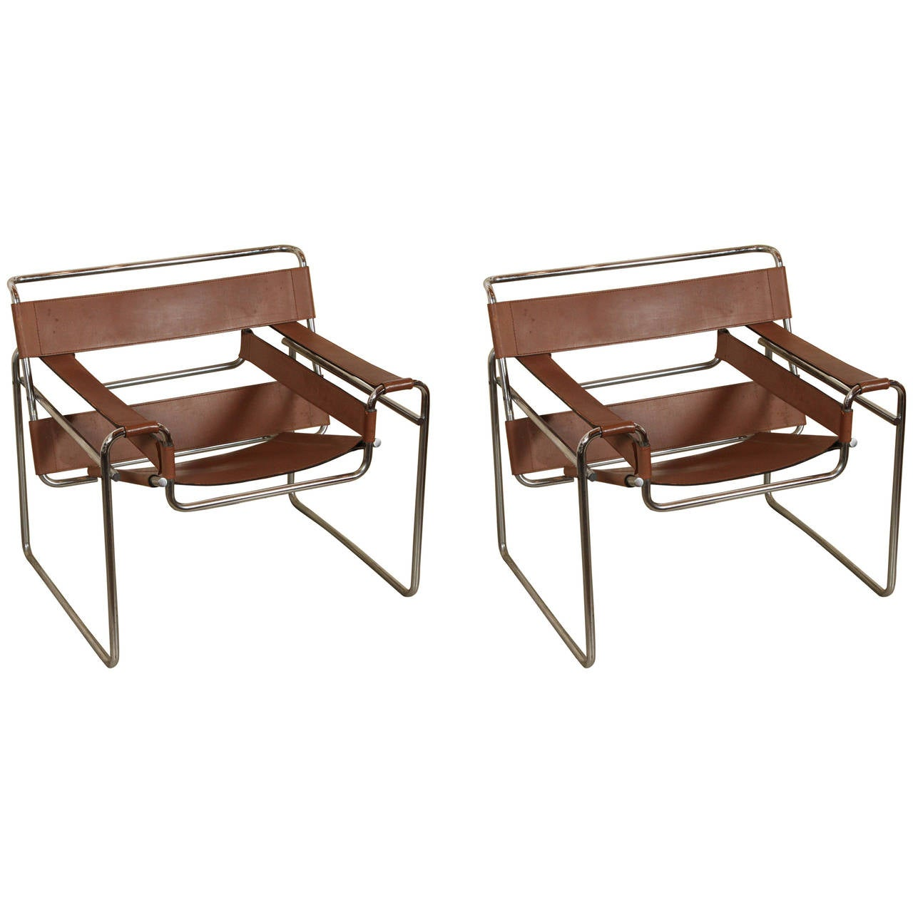 Set Of Marcel Breuer Wassily Lounge Chairs At 1stdibs